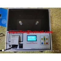 Buy cheap Oil Analyser Transformer Test Equipment Portable Automatic Insulation Oil Dielectric Strength Breakdown Voltage Tester product