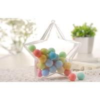 Buy cheap five star shape candy  safe food grade plastic PS packaging containers product