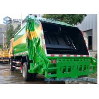 Buy cheap Dongfeng Double Axle 4X2 Compression Garbage Trucks 6cbm-10cbm from wholesalers