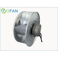 China High Pressure Centrifugal Backward Curved Fan / EC Industrial Fan Blower on sale