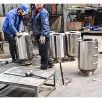 Buy cheap Permanent Drum Type Magnetic Separator , Magnetic Iron Separator For Feed Processing product
