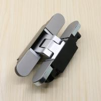Buy cheap different types of 180 degree 3d adjustable door hinges full concealed fitting from wholesalers