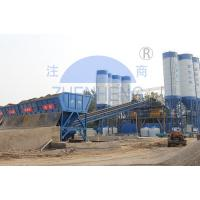 Buy cheap HZS180 180 M3/H Ready Mix Concrete Plant, Wet Batch Concrete Plant product
