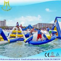 Buy cheap Hansel terrfic PVC inflatable water jumping castles for sale product