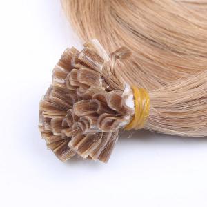 Buy cheap Wholesale 100% Virgin Brazilian Human U Tip Hair Keratin Pre-Bonded U Tip Hair Extensions product