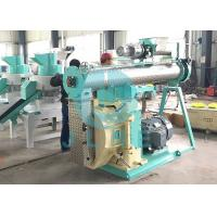 China Animal Feed Pellet Mill Press Machine 110kw 380V 50HZ Single Double Conditioner on sale