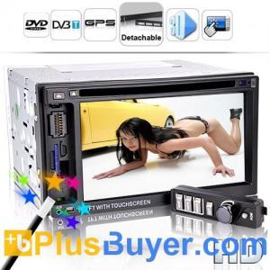 Street King X4 - 6.2 Inch LCD Car DVD Player (Detachable, GPS, DVB-T)