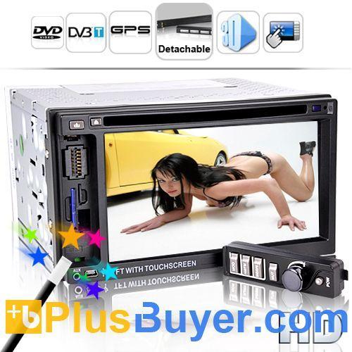 Quality Street King X4 - 6.2 Inch LCD Car DVD Player (Detachable, GPS, DVB-T) for sale