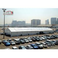 Buy cheap 20 x 60 m White Aluminum Outdoor Exhibition Tents For Big Show as Permanent Structure from Wholesalers