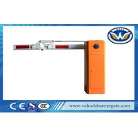 Buy cheap 180 Degree Boom Car Park Barrier Gate , Electronic Vehicle Barrier Gates product