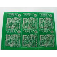 China Rigid Industrial PCB Board with HASL , FR4 Base 2 Layer Board For Industrial Use on sale