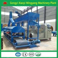 China No any binder factory direct sale wood sawdust rice husk briquette BBQ charcoal making machine price on sale