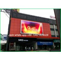China Bright Full Color Led Outdoor Advertising Screens Outdoor Led Displays P4.81 on sale