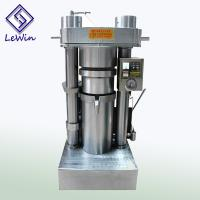 Buy cheap High Efficiency Sesame Oil Press Machine Hydraulic Model product