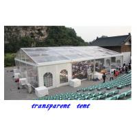 Buy cheap 15x40m 600 People Transparent Canopy Tent for Sale,clear span tent product