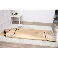 China 3 Zone Far Infrared Blanket / Body Wrap Blanket For Detox And Slimming on sale