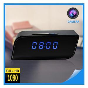 China Factory Supply 2018 Hot Selling Digital AlarmClockCCTVCameraFull HD SpyClock WIFI 1080P P2P Network Mini IPCamera on sale
