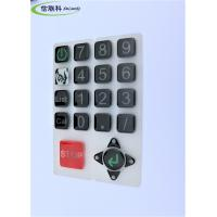 Buy cheap Customized Color Silicone Numeric Keypad Cell Phone Button Easy To Clean product