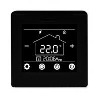 Buy cheap Programmable Underfloor Heating Thermostat 16A With Black / White Color product