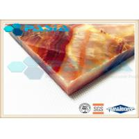 Buy cheap Moisture Proof Aluminum Honeycomb Ceiling Tiles , Lightweight Panel Board product
