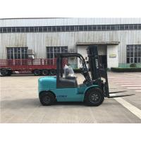 4 ton diesel forklift truck with imported engine and 3m two stage mast