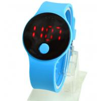 China Silicone Digital LED Sports Watch Japan Lithium Battery Stopwatch on sale