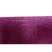 Quality Wall Paper Sparkle Glitter Fabric , Diy Decoration PVC Glitter Fabric for sale