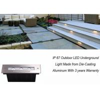 Buy cheap IP 67 3 W LED Underground Light Stainless Steel Buried Landscape Inground Lighting product