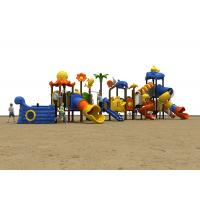 Buy cheap Pre School Childrens Plastic Playground , Advanced Childrens Play Slide CE Certificate product