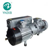 Buy cheap XD-302 7.5KW 50Pa cast iron material color grey single stage oil sealed rotary vane vacuum pump product