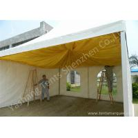 Buy cheap French Type Stainless Frame high peak pole tent , aluminum canopy tent with Linings product