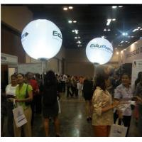 Carried Inflatable Back Pack Ball With Led Light For Trading Show
