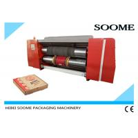 Buy cheap Corrugated Die Cutting And Creasing Machine / Automatic Pizza Box Making Machine product