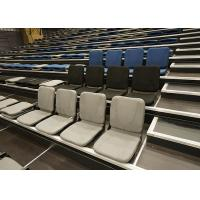 Melody Upholstered Retractable Stadium Seating Space Saver For Indoor Gyms