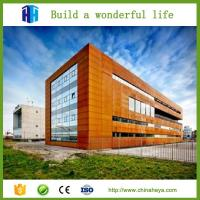 China prefabricated steel structure building construction materials for shopping malls on sale