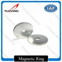 Buy cheap Ring N38H Neodymium Permanent Magnets With 2m Countersink Hole For Sensor product