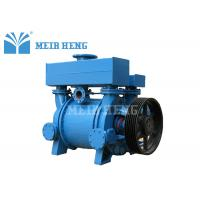 China Belt Pulley Driven Single Stage Vacuum Pump Industrial Liquid Ring Vacuum Pump on sale