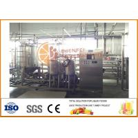 Buy cheap 1T/h SS304 Tube in tube Juice and Paste Sterilizing Machine product