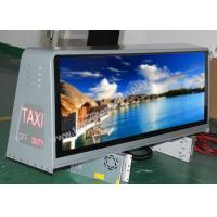 Buy cheap Rear Access LED Taxi Sign / Car Led Sign Display Lower Power Consumption product