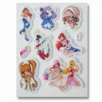 Buy cheap Foam and PVC Stickers, Customer's Designs are Accepted, Suitable for Decoration product