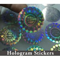 Buy cheap Honeycomb Custom Hologram Stickers For Pharmaceutical Packaging Security product