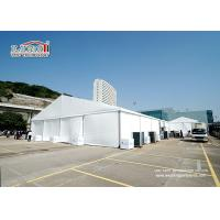 Buy cheap 1000 People White Marquee Tent With PVC Sidewalls For Temporary Outdoor Event product