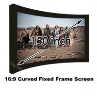 Popular Design Home Cinema Projection Screen 150 Inch DIY Curved Frame Projector Screens