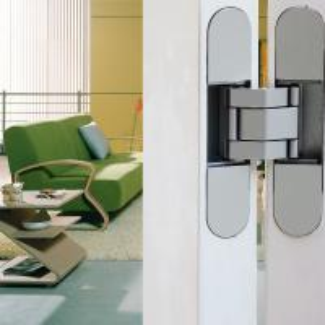 Buy cheap high class zinc alloy flush doors 3D adjustable concealed hinge product