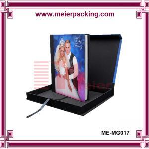 Buy cheap Professional magnetic closure colorful carton box/Album photo gift box ME-MG017 product