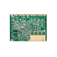 Buy cheap 0.25MM Immersion Gold High Frequency PCB Design 12 Layer PCB Board 4 Mil from wholesalers