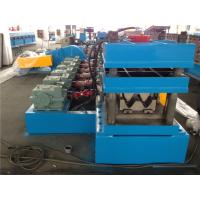 4.0MM Thickness Sheet Metal Forming Equipment , Highway Guard Rail Cold Roll Forming Equipment
