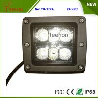 Buy cheap 24 Watt Square LED Working Light for 4WD Vehicle and Heavy-Duty Truck product