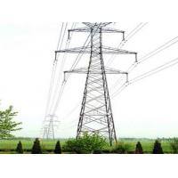 Buy cheap 110KV transmission tower, 110KV double-circuit tangent tower manufacturer product