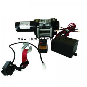Buy cheap Remote Control 3000 Lb Electric ATV Winch 24 UTV Anchor Mini 12V Durable product